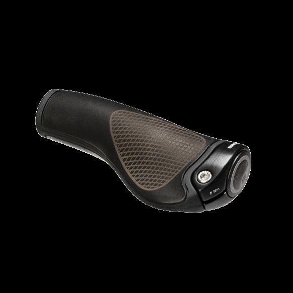 Large//XL Ergon GP2-L Ergonomic GripShift Handlebar Grips w Bar Ends